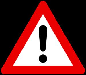 Part Worn Tyres Warning