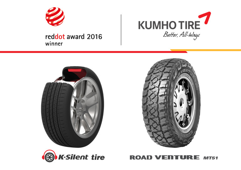 Kumho Tyres - Red Dot Winner